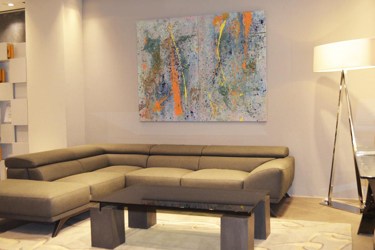 arte abstracto para interiores
